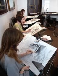 uczniowie rysunek