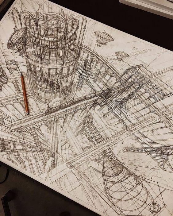 rysunek architektura