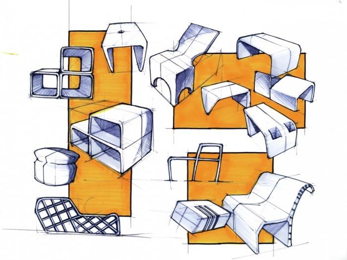 wzornictwo przemysłowe studia Wzornictwo przemysłowe mebli tapicerowanych
