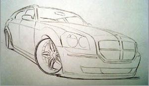 jak nauczyć sie rysować samochod