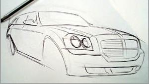 czy można nauczyć się rysować samochod