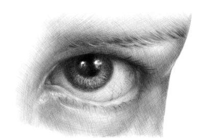 Jak narysować oko krok po kroku2