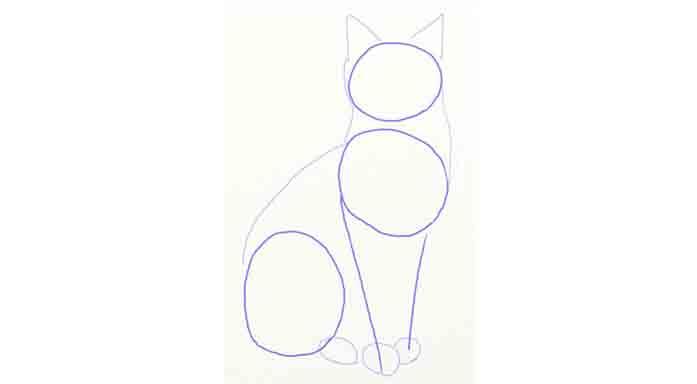 Jak rysować kota2