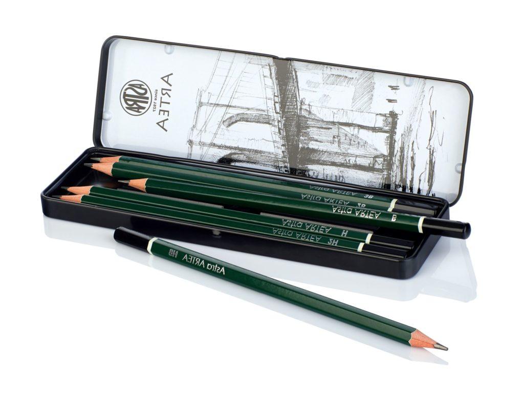 astra ołówki do szkicowania-Artakademia Krakow