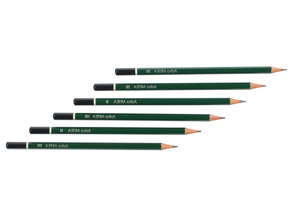 astra ołówki do szkicowania-Artakademia kurs rysunku Krakow