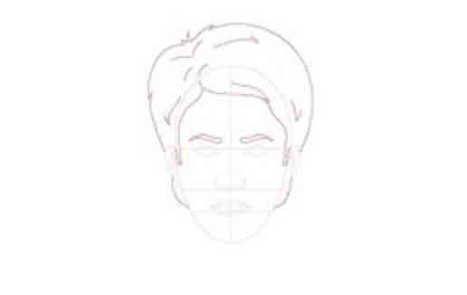 jak narysować twarzbokiem