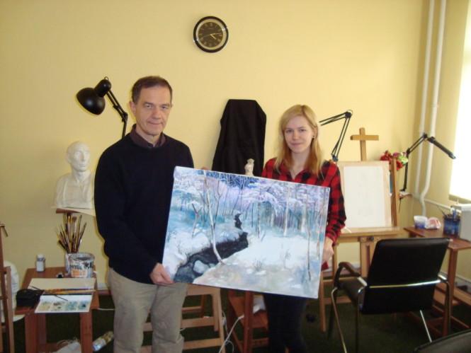malarstwo akwarelowe